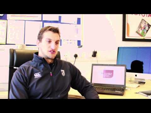 Wales Rugby Captain Talks About Studying Strength & Conditioning at USW