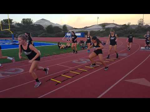 Rancho Bernardo Girls Volleyball Training 2015