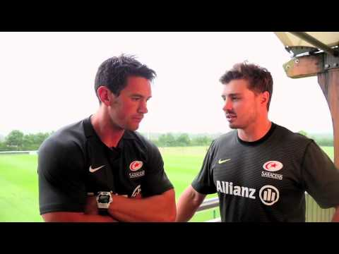 Saracens Rugby S&C Coach Andy Edwards