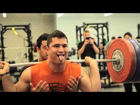 Oregon State Football Strength and Conditioning