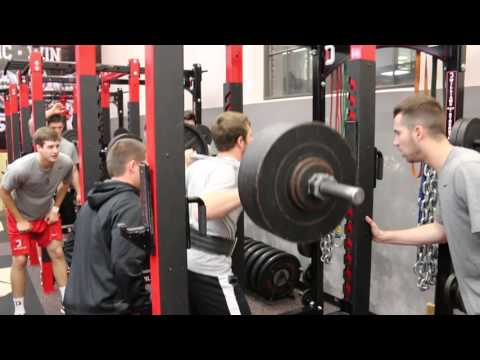 Davidson College Baseball Fall Strength & Conditioning