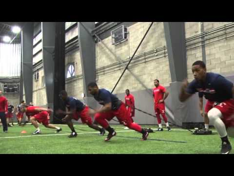 Stony Brook Football - Winter Workout Week 1
