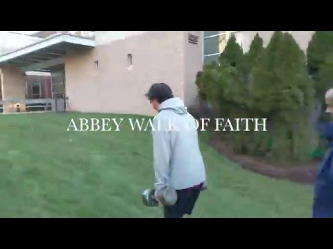 Brutal Farmer Walk Conditioning Finisher - St. Anselm's High school Abbey Walk of Faith 2016