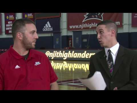 NJIT's Head Strength & Conditioning Coach Bobby Fisk