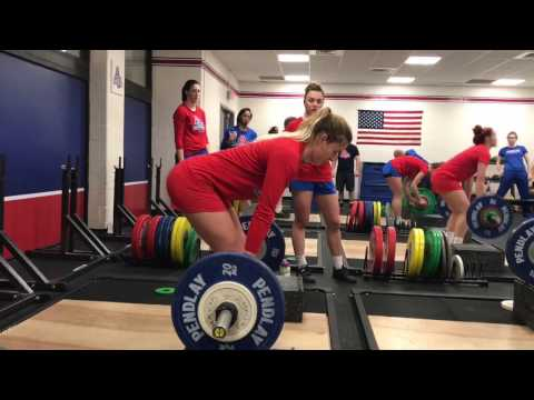 American University Volleyball - Strength & Conditioning 2017