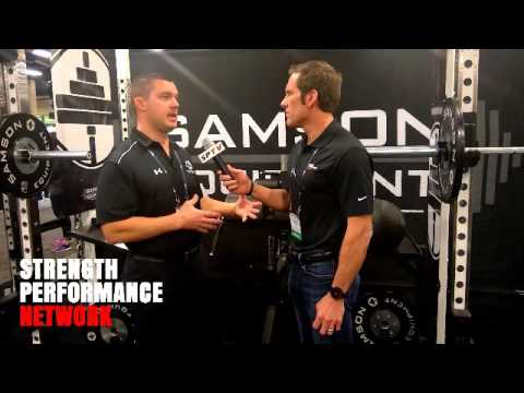Interview with Samson Equipment at 2017 NSCA Coaches Conference