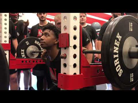 Newberry Football Speed, Strength, and Conditioning Winter 2018 Part 5