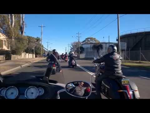 Independence Day shop ride - Sydney 2014