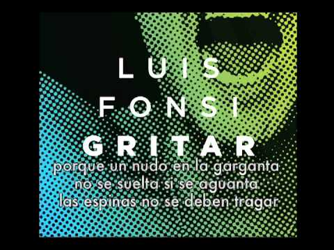 Luis Fonsi - Gritar Official Lyrics Video (letras oficial)