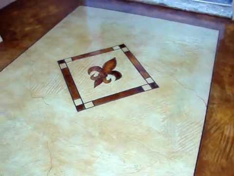 acid stain floor #37