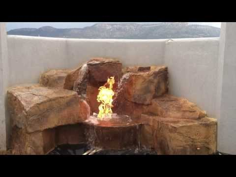 Fire ON Water feature