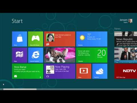 Windows 8 Consumer Preview: Product Demo
