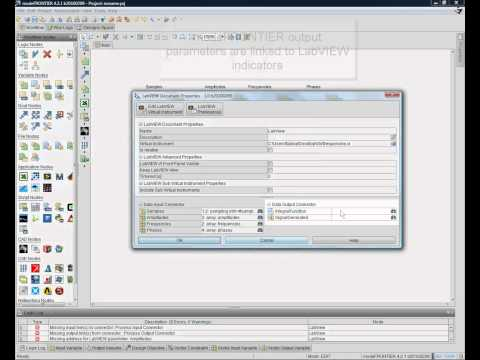 modeFRONTIER and LabVIEW Integration