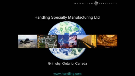 Handling Specialty's Manually-Guided Vehicle (MGV)