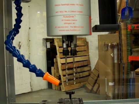 Multi Spindle Example of Automatic Drilling Fixture (Like Zagar)