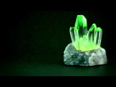 3D Printed Kryptonite/Crystal
