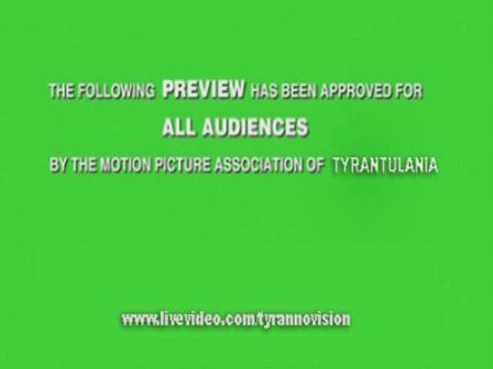 TYRANNOVISION Year One 2-Disc DVD Trailer