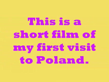 First Visit to Poland