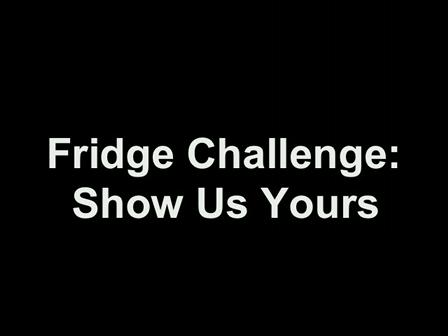 Refrigerator Magnet Challenge