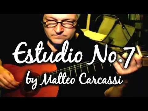 Carcassi Estudio No. 7 for Guitar (Orchestrated)