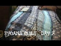 Ryoanji Quilt Day 7 Pressing