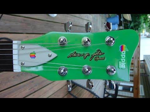 Apple Logo / Steve Jobs Special Guitar & Mac G3 Fender Amp / Final