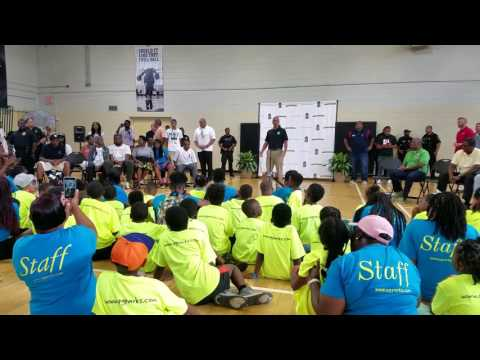 NBA Star Kevin Durant Returns Home to Prince George's County for Kevin Durant Day