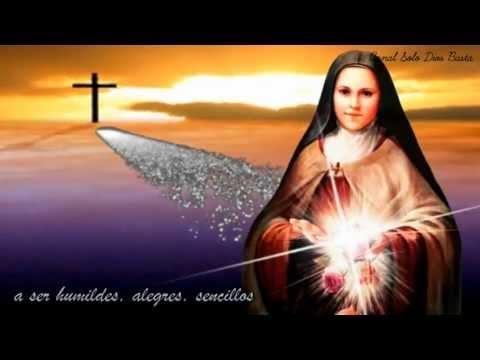 Canción de Santa Teresita del Niño Jesús ❥ Silvia Dálé