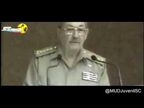 Raúl Castro: HAY QUE BORRAR LA REVOLUCIÓN DE LA FAZ DE LA TIERRA