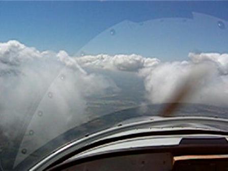 Down Through Clouds