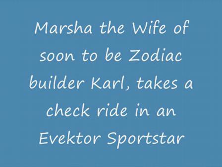 Marsha in the Sportstar
