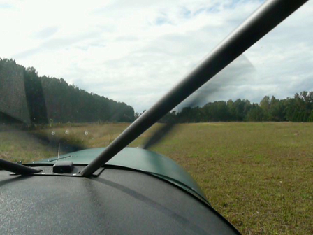 Short take-off in the STOL CH 701