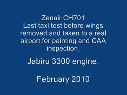 Zenair CH701 ZK-EDY