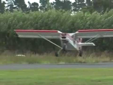 Short take-off and landing (STOL) demonstration.