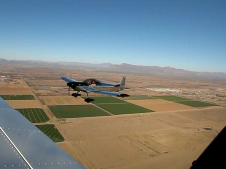 Formation flying with Andy Elliott