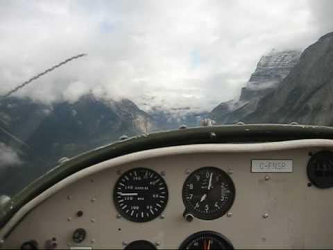 Zodiac CH 601 ul from CYXX over Rockies to Villeneuve