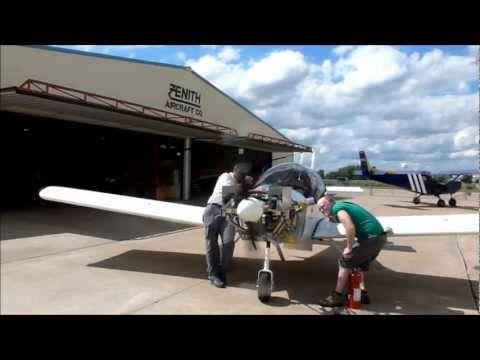ULPower engine on the Zenith CH 650 kit plane