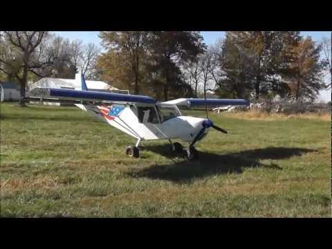 STOL flying on a fall day