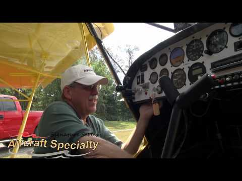 Aircraft Specialty Flap Handle Installation