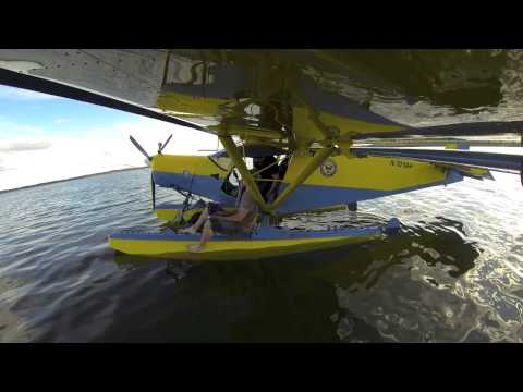 Flying the Zenith STOL CH 701 Amphibious with Troy Townsend and Friends from I-Tec