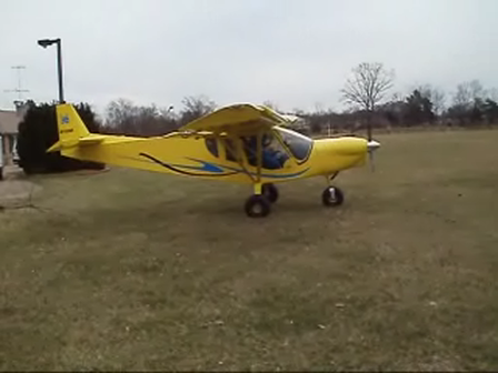 Departing my backyard in the STOL CH 750