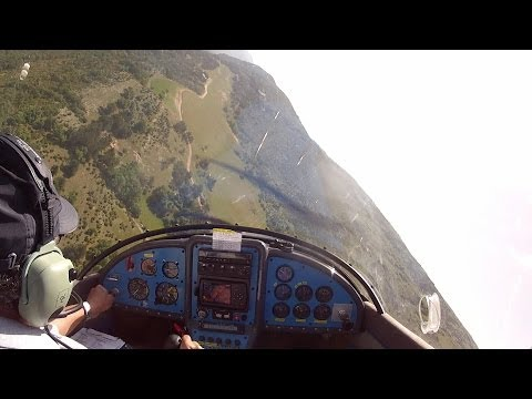 High speed low fly-by in the Zenith CH601 UL