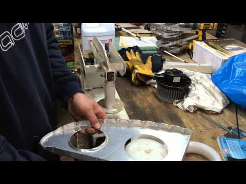 Pneumatic Flanging Tool