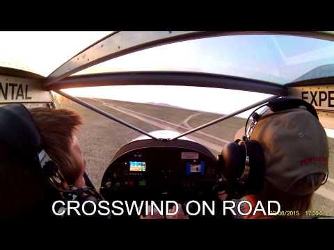 Chris Brown STOL 750 Hut Landings