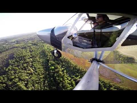 First flight of N750YP by owner/builder John Clark!