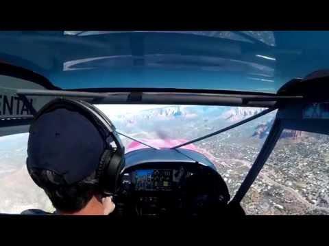 Zenith CH 750 Landing Rwy 21 Sedona AZ (KSEZ)