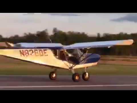 First flight - landing the Zenith STOL CH 750