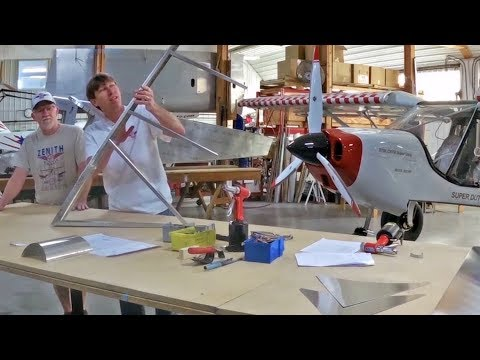 STOL CH 750 Super Duty complete rudder assembly