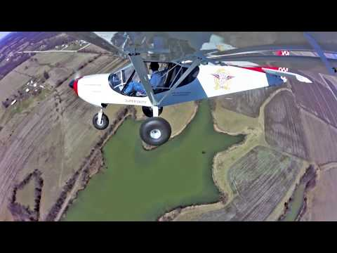 Take-off and landing with the STOL CH 750 Super Duty
