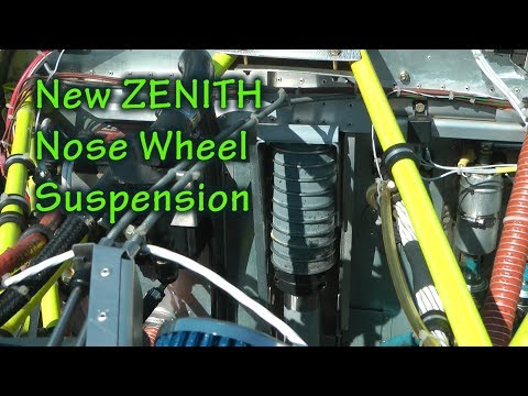 New Zenith Nose Wheel Bungee Solution